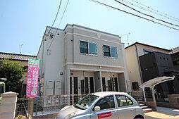 愛知県名古屋市港区甚兵衛通2丁目の賃貸アパートの外観