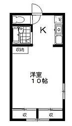 豊島園パレス[2階]の間取り