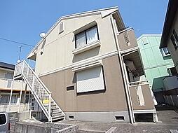 神鉄粟生線 緑が丘駅 バス8分 センター前下車 徒歩7分の賃貸アパート