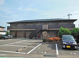 静岡県沼津市西間門の賃貸アパートの外観