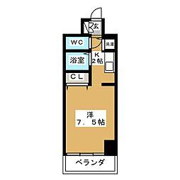 IZM36[7階]の間取り
