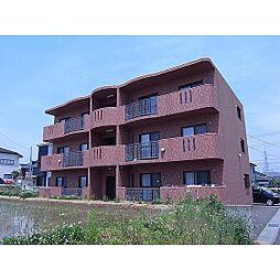福島県郡山市日和田町の賃貸マンションの外観