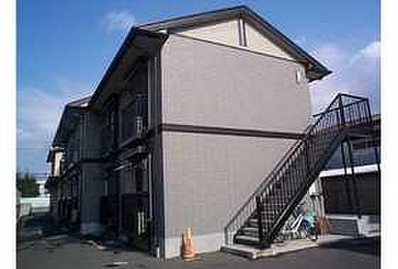 京都府長岡京市神足木寺町の賃貸アパートの外観
