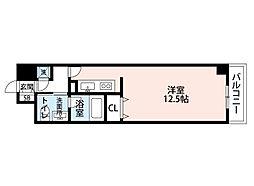 シティヒルズ安堂寺[8階]の間取り