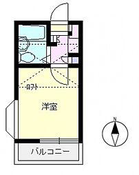 エマーユ60上福岡[202号室号室]の間取り