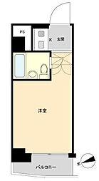 東京都港区麻布台2丁目の賃貸マンションの間取り