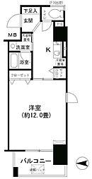 KHKコート西野田[7階]の間取り