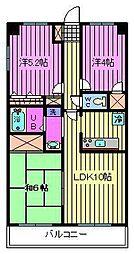 新田第11ビル[5階]の間取り