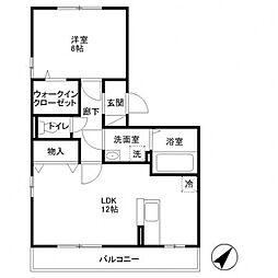 カシータ3[303号室号室]の間取り