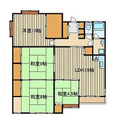 東京メトロ有楽町線 要町駅 徒歩8分の賃貸アパート 1階4LDKの間取り
