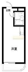 レジダンス・イン・三軒茶屋[1階]の間取り