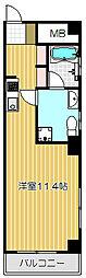 不動前アパートメント[2階]の間取り