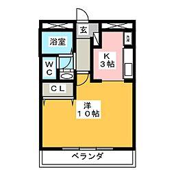 Maison De Raffine[1階]の間取り