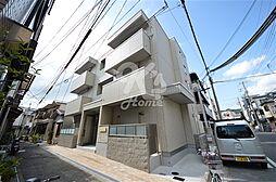 兵庫県神戸市長田区御船通3の賃貸マンションの外観