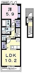 ビッグゲート[2階]の間取り