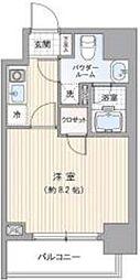 ヴィエルジュ錦糸町太平[5階]の間取り