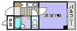 カーサミガタ[2002号室]の間取り