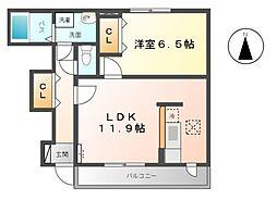 カーサ みずほ[1階]の間取り
