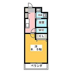 FreedomIII[1階]の間取り