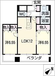 カミヤビル[3階]の間取り