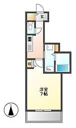PONTE ALTO新栄(ポンテアルト)[9階]の間取り