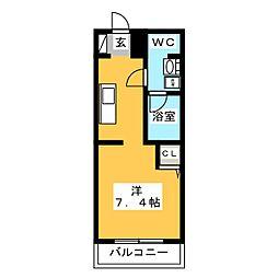 ライフステージ二日市 弐番館[3階]の間取り