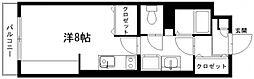 メゾンポプリ[203号室]の間取り