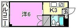 メゾンShin[210 号室号室]の間取り
