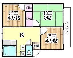 櫻シティA棟[101号室]の間取り