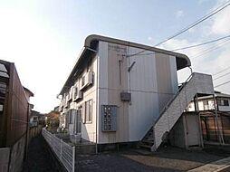 岡山県岡山市中区関の賃貸アパートの外観