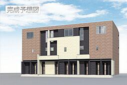 埼玉県鴻巣市本町8丁目の賃貸アパートの外観