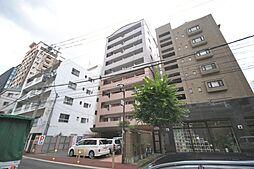 福岡県福岡市中央区渡辺通2の賃貸マンションの外観