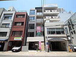 広島県広島市南区京橋町の賃貸マンションの外観