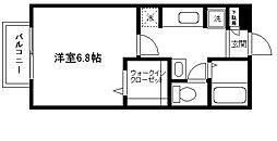 ツインステージA棟[102号室]の間取り