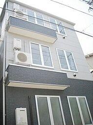 東京都大田区羽田3丁目の賃貸アパートの外観