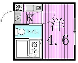 スプリングシャンテ2[2階]の間取り