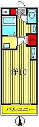 ウィナーズII[2階]の間取り