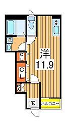 パル・クレシア[1階]の間取り
