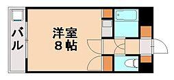 ウイングコート七隈[3階]の間取り