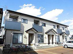新潟県新潟市江南区荻曽根2丁目の賃貸アパートの外観