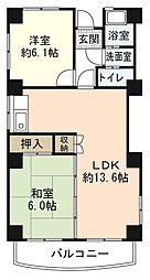 ソフィアコート古江東[3階]の間取り