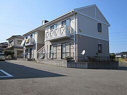 佐賀県唐津市鏡赤水の賃貸アパートの外観