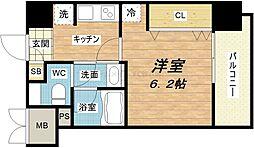 Fujiman北山町[3階]の間取り