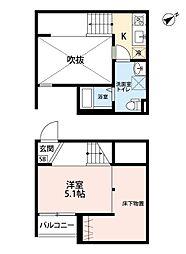 鳴海XIB棟(仮称)[2階]の間取り