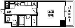 神奈川県川崎市多摩区生田7丁目の賃貸マンションの間取り