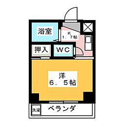 エクセル大江[2階]の間取り