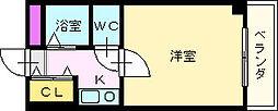 T−SYA白鷺コート[3階]の間取り