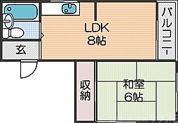 住ノ江駅 3.5万円