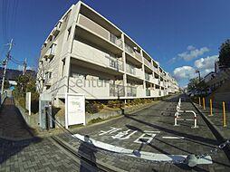 兵庫県宝塚市御殿山3丁目の賃貸マンションの外観