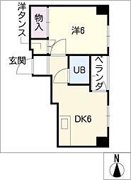 ROAビル[6階]の間取り